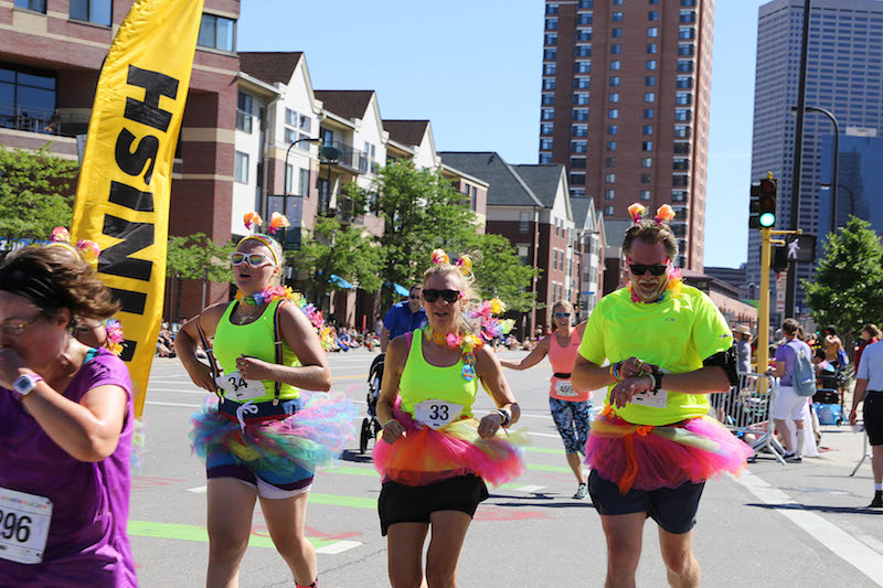 Photo of Twin Cities Pride Rainbow Run