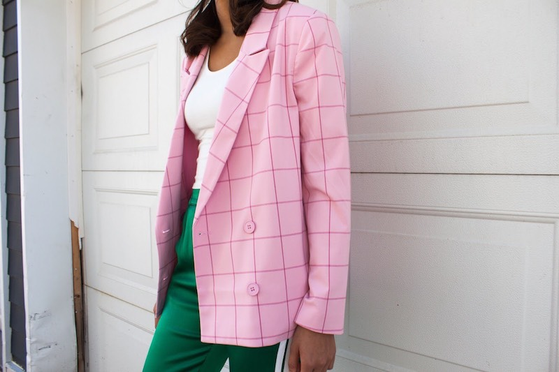 Girl modeling Cliché clothing