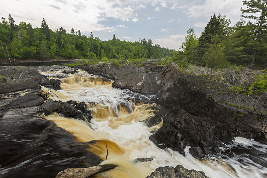 St. Louis River rapids at Jay Cooke State Park.
