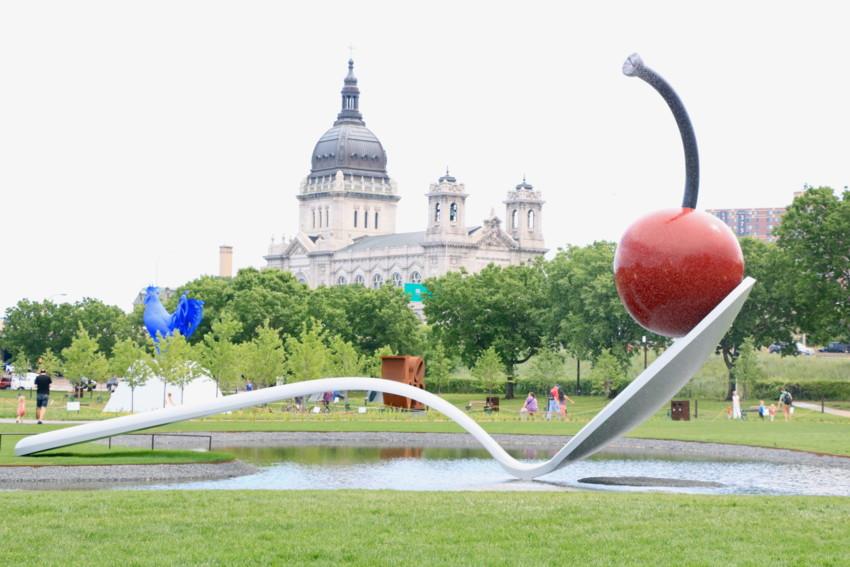 Minneapolis Sculpture Garden_Photo by Natalie Hall