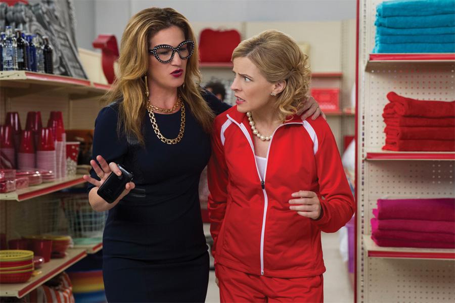 Ana Gasteyer and Maria Bamford in Bamford's show Lady Dynamite.
