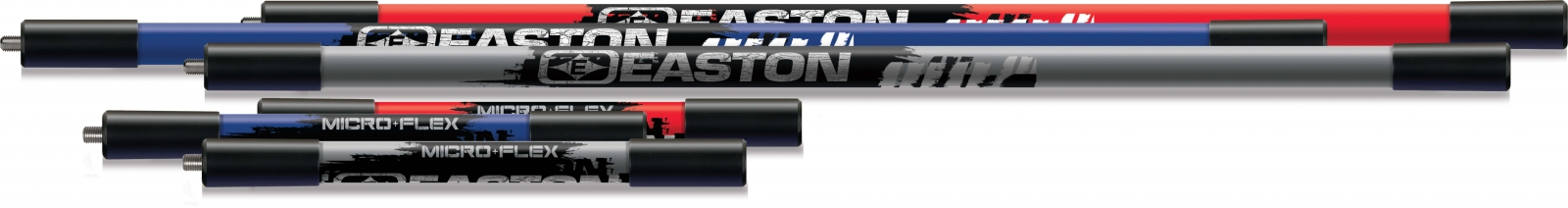 Easton Micro-Flex stabilizers and side rods.