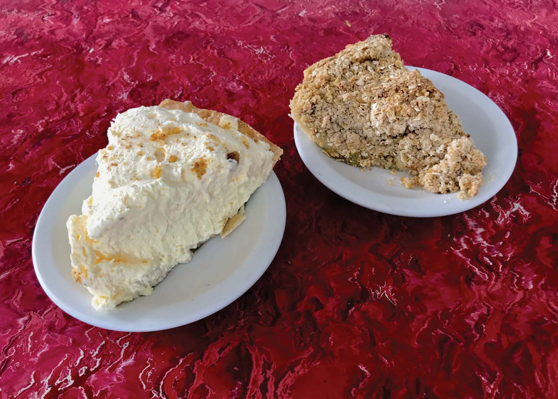 The pie from Rapidan Dam Store.