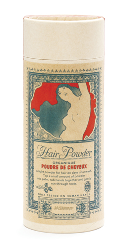 hair powder