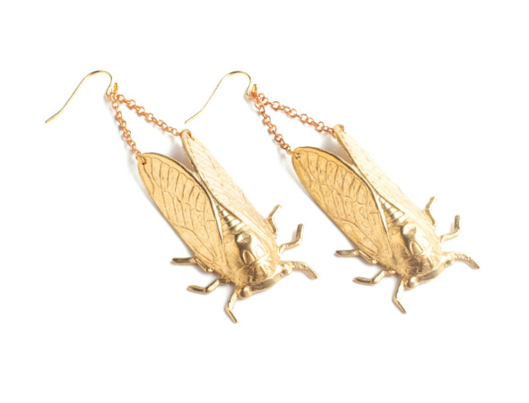 Larissa Loden Cicada Earrings