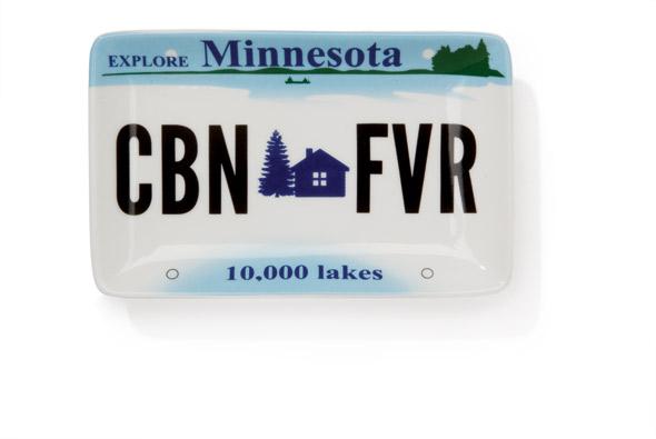 Cabin Fever plate