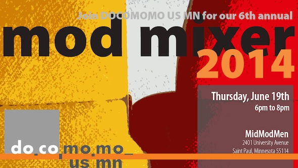 Docomomo US/MN Mod Mixer