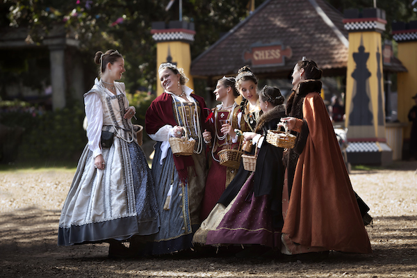 Renfest maidens