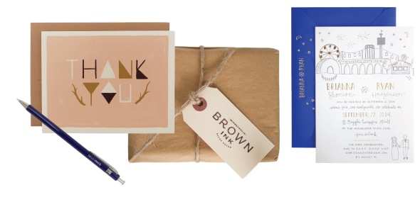 Brown Ink and Printerette press