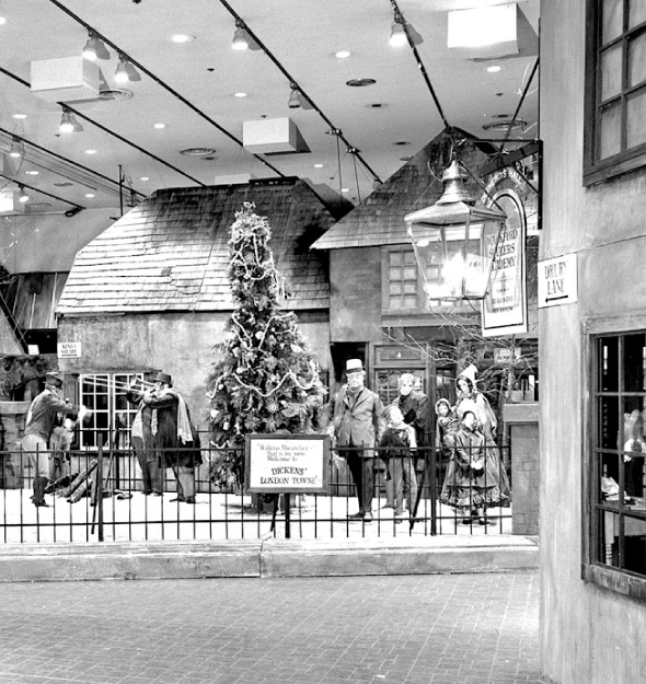 Dayton's Dickens Village Christmas Display