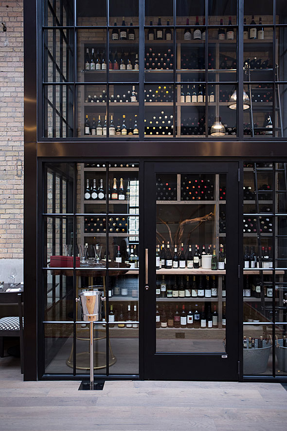 Spoon and Stable Wine Wall