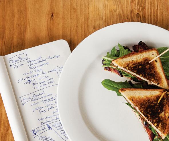 Nighthawks sandwich