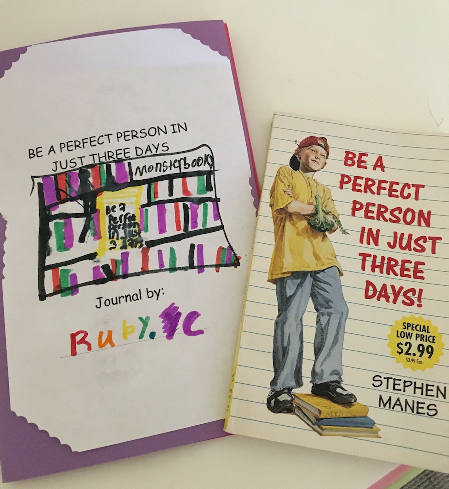 Be a Perfect Person in Just Three Days, Stephen Manes