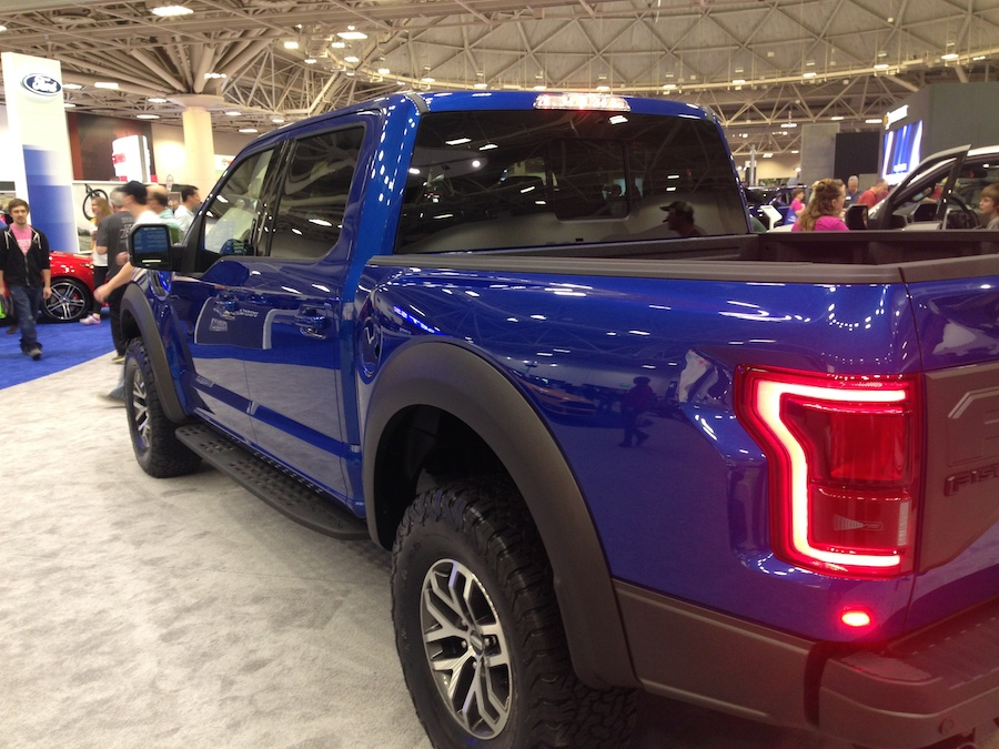 twin cities auto show, ford, raptor