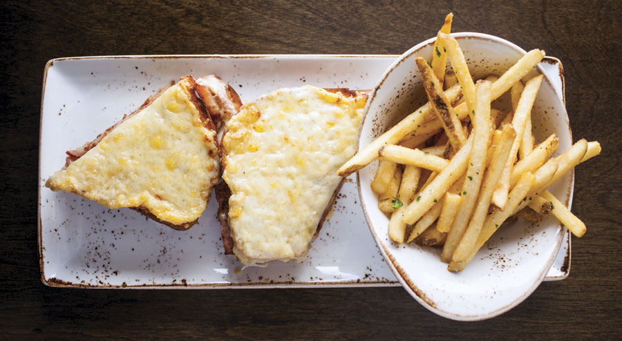 cedar and stone croque monsieur