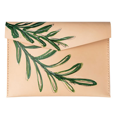 clutch, solid manufacturing co., cait courneya, leather goods