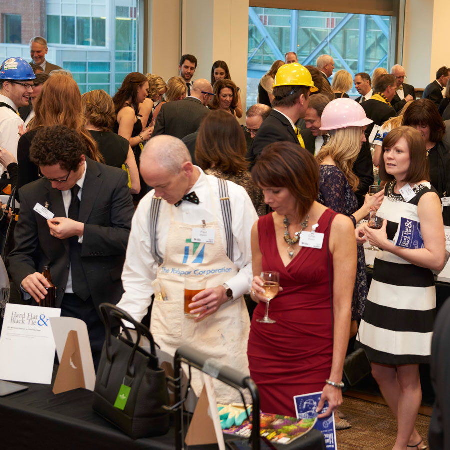 Habitat for Humanity, Hard Hat & Black Tie Gala, stepping out, scene