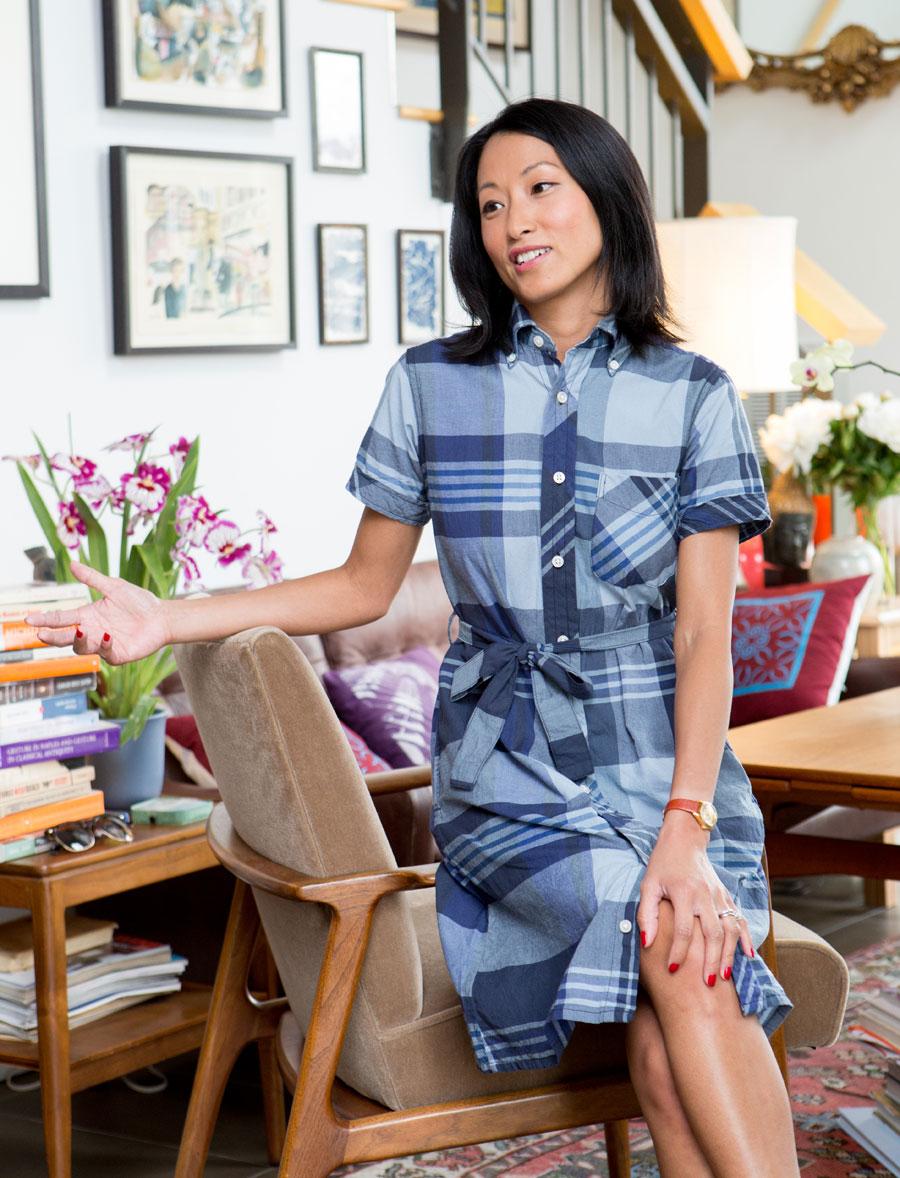 Pahoua Yang Hoffman, well styled