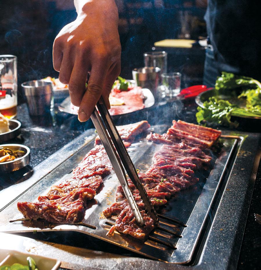 wang galbi, hoban korean bbq, restaurant rumble, dining out