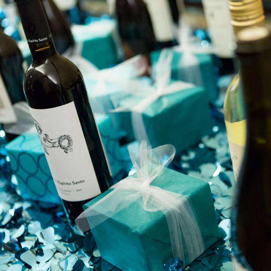 black, white, and teal gala, party pics, events