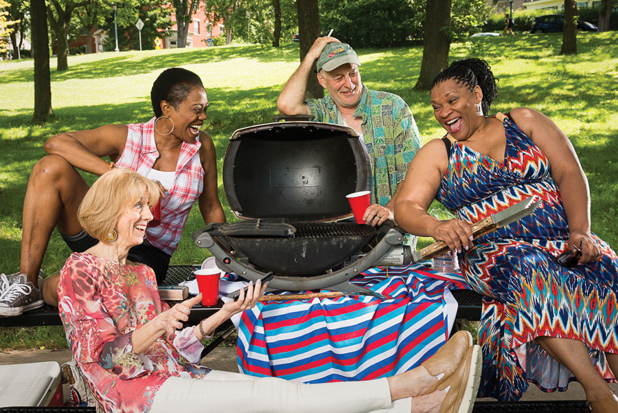 Barbecue, mixed blood theatre, fall arts, arts and entertainment, theater