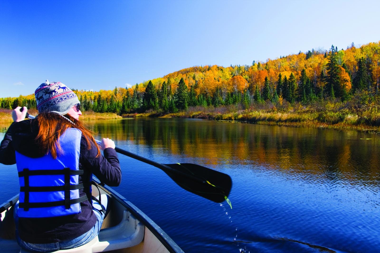 caribou highlands, autumn travel, minnesota travel