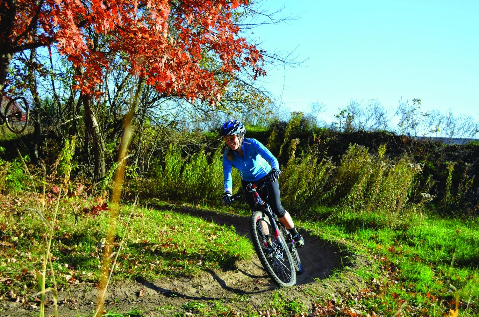 st. croix river valley, biking, autumn travel, minnesota travel