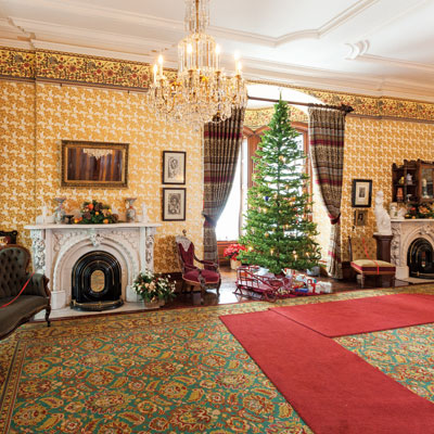 ramsey house, tours, victorian houses, arts and entertainment, things to do, christmas, events