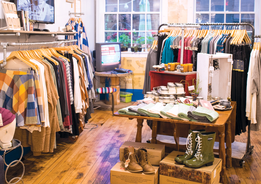 spoils of wear, shopping, st. paul, sustainable fashion, selby and snelling, jill erickson, fair-trade