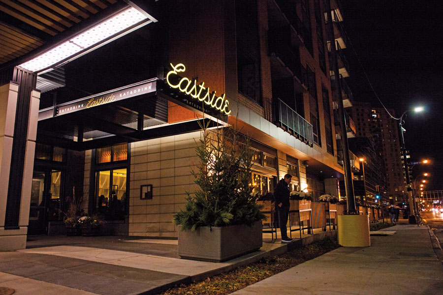 Eastside's patio in Minneapolis.