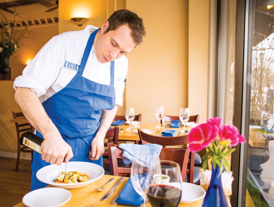 Chef Alan Bergo of Lucia's.