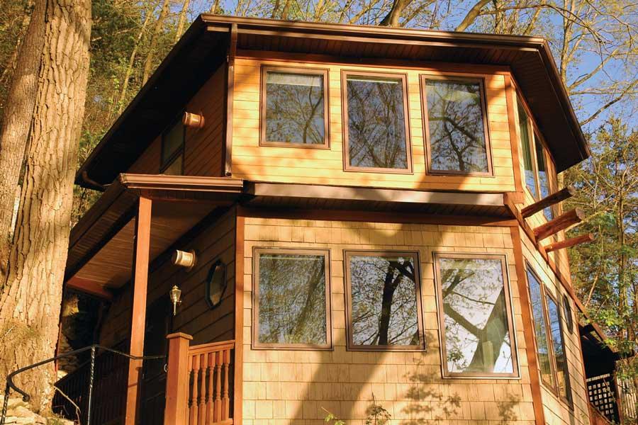 Hawks View Cottages.