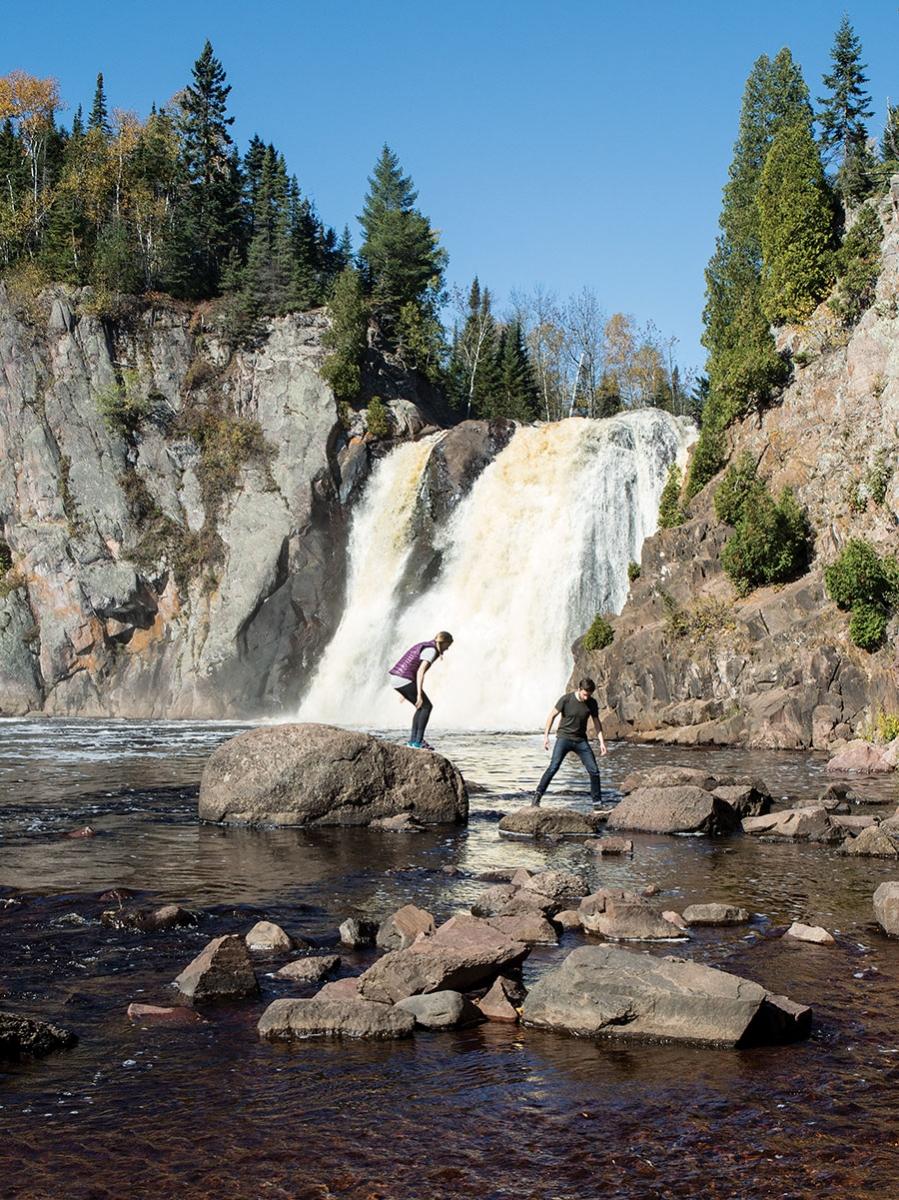 High Falls at Tettegouche State Park.