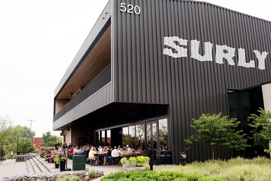 Surly Brewing Company patio.