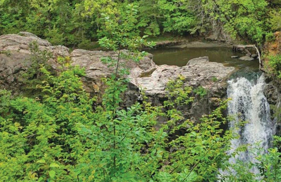 Alexander Ramsey State Park, Redwood Falls.