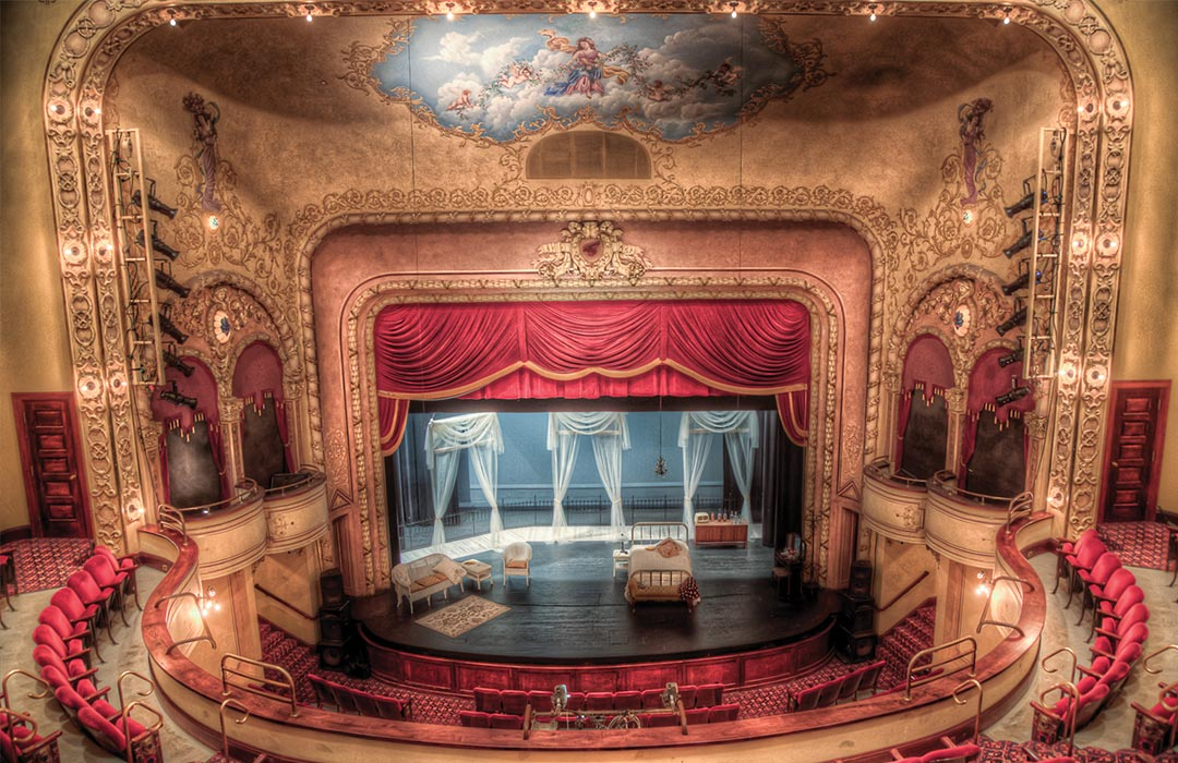 Inside Sheldon Theater, Red Wing, Minnesota.