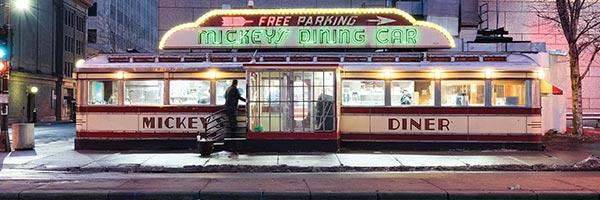 Mickey's Dining Car in St. Paul, Minneapolis.