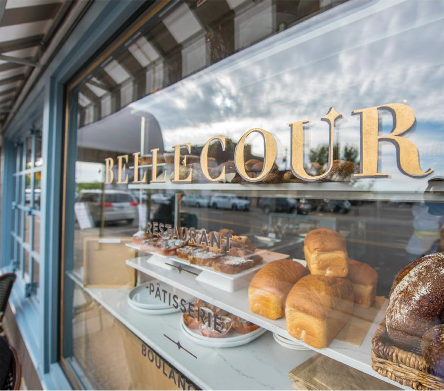 Bellecour's storefront.