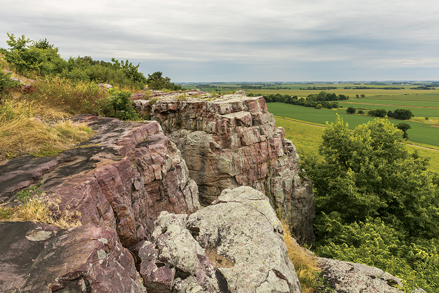 Blue Mounds in southwest Minnesota.