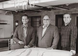 Photo of John R. Kraemer, vice president; Gary J. Kraemer, president and founder; Jeff D. Kraemer, vice president; John Kraemer and Sons