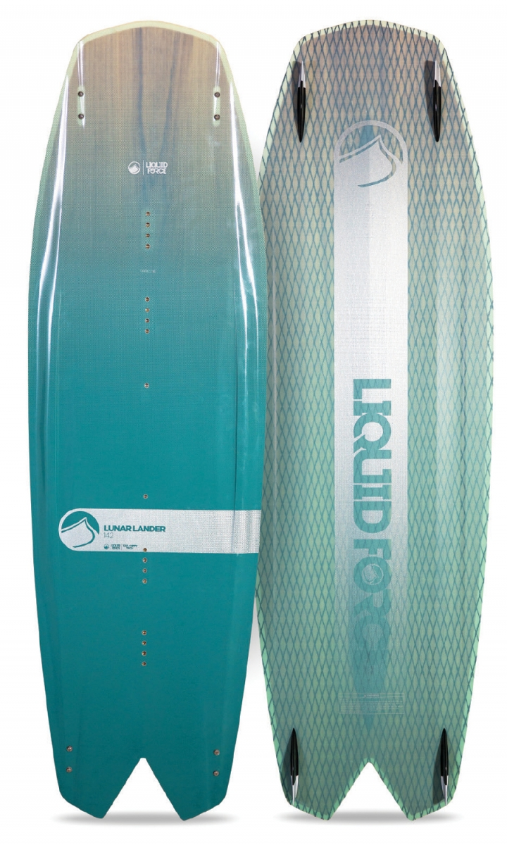 Liquid force Lunar Lander twin tip board, liquidforcekites.com $599.