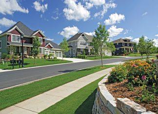 Photo of a neighborhood in Woodbury