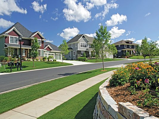 Photo of a neighborhood in Woodbury