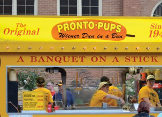 Pronto pup booth at the Minnesota State Fair