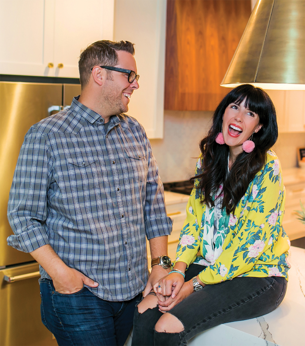 Courtesy HGTV. Brad and Heather Fox hope for an HGTV show, Stay or Sell.