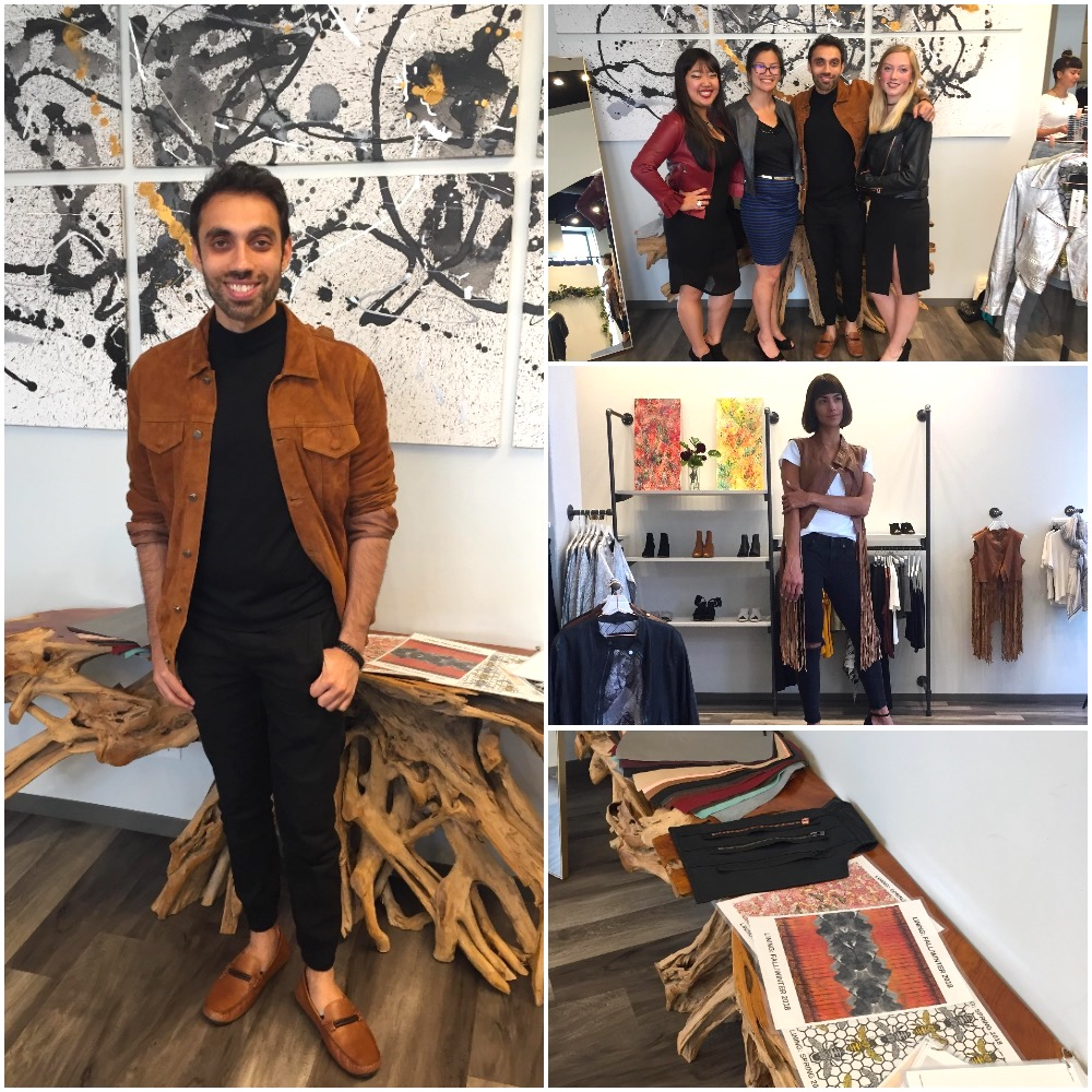The Art of Leather event at Fashion Week MN, fall 2018 edition, with Bano eeMee and Queen Anna. Photo by Katie Ballalatak.