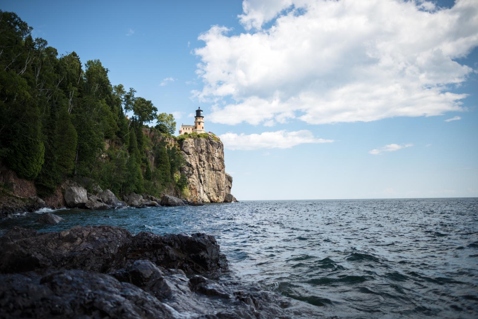 Split Rock Lighthouse on Lake Superior. Photo courtesy Scottie/Fotolia.
