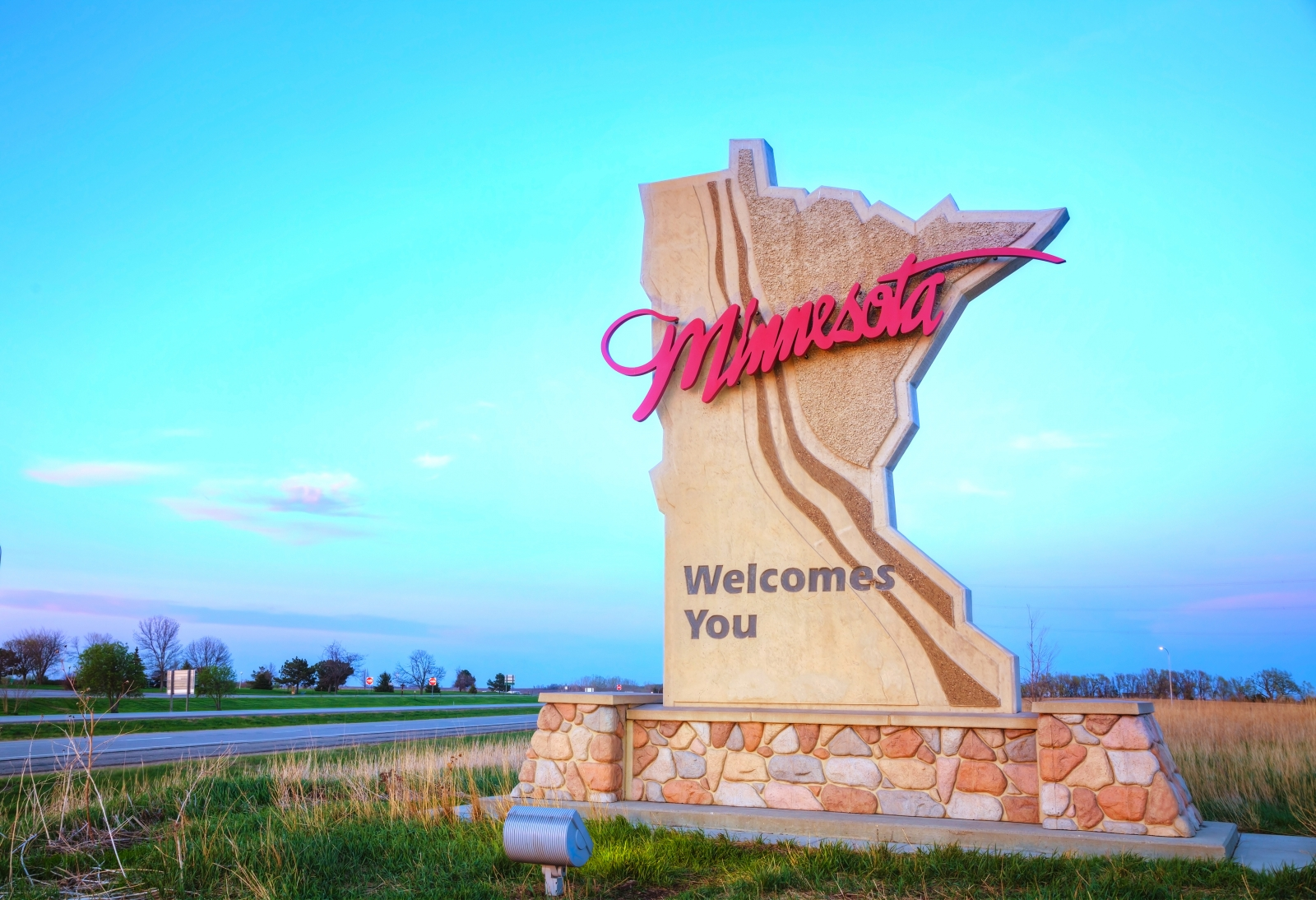 The Welcome to Minnesota sign. Courtesy andreykr/Fotolia.