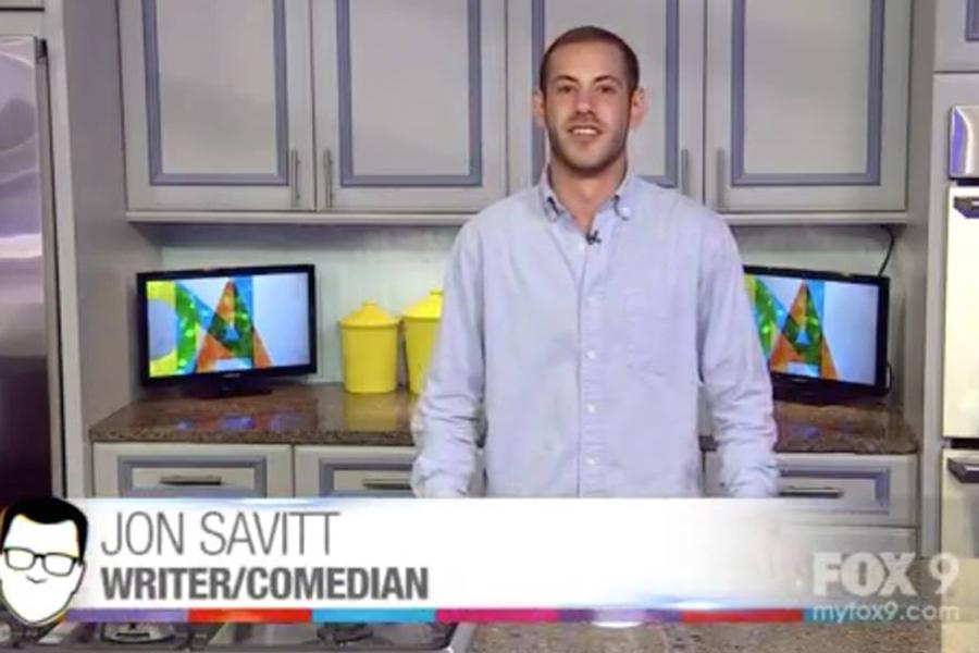 Jon Savitt during his appearance on the Jason Show.