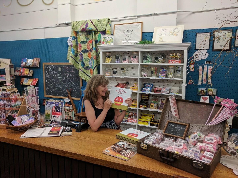 The Sweet Reads register. Courtesy Discover Austin Minnesota.
